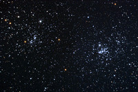 NGC 869 and NGC 884 - Double Cluster in Perseus