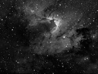 Sh2-155- Cave Nebula in Ha