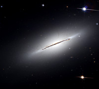 NGC 5866 - M102 in Draco