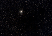 M9 in Ophiuchus With Comet C/2007 G1 (LINEAR)