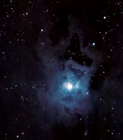 "LBN 487 and NGC 7023 - ""Iris Nebula"" in Cepheus - Closer View"