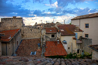 From the rooftop patio of La Maison D'Isidore - our B and B in St Remy