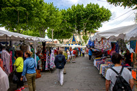 Wednesday market in St Remy