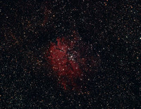 NGC 6820/NGC 6823 in Vulpecula