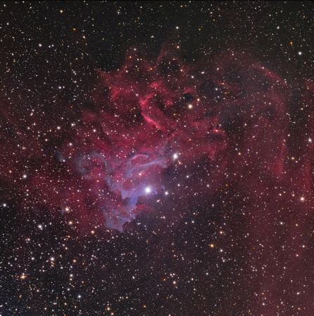 "IC 405 - The ""Flaming Star Nebula"""