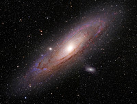 M31 in HaRGB - The Great Andromeda Galaxy - 4 Panel Mosaic