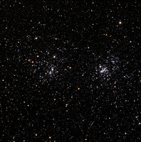 Double Cluster in Perseus - NGC 869 and NGC 884
