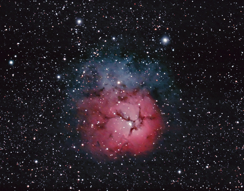 "Zenfolio   Hunter Wilson   Nebulae   M20 ""Trifid Nebula ..."